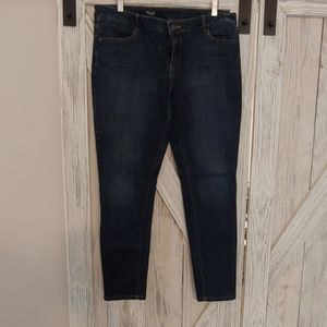 Vera Wang ankle jeans